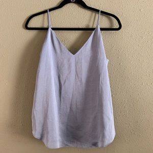 (Small) Express blue top